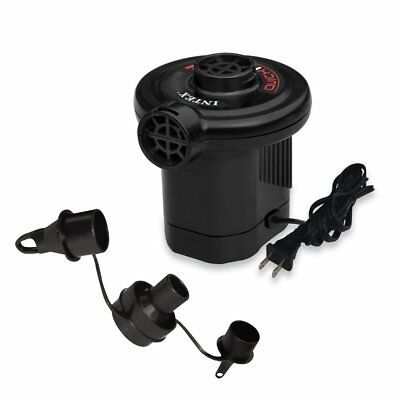 Intex Quick-Fill AC Electric Air Pump 110-120 Volt Max. Air Flow 21.2CFM