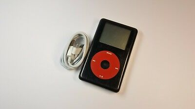 Apple iPod Classic 4th Generation U2 Special Edition Black/Red (20GB)