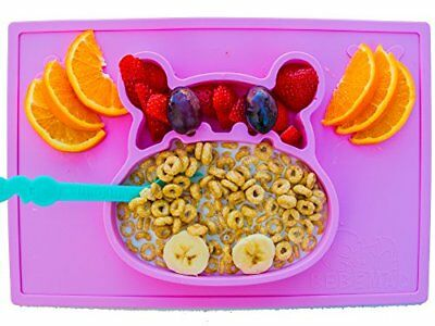 baby silicone placemat and plate tray for infants toddlers kids FDA Approved