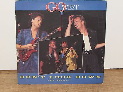 """Go West – Don't Look Down (The Sequel) 7"""" Single Vinyl  Record"""