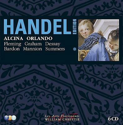 Handel Edition: Volume 1 - Alcina, Orlando Audiolibro, Cofre, CD