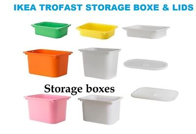 Ikea TROFAST Boxes to fit TROFAST Units, Various colours & sizes