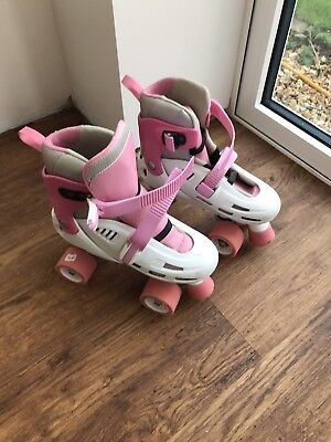 Girls Roller Boots Adjustable Size 3-6