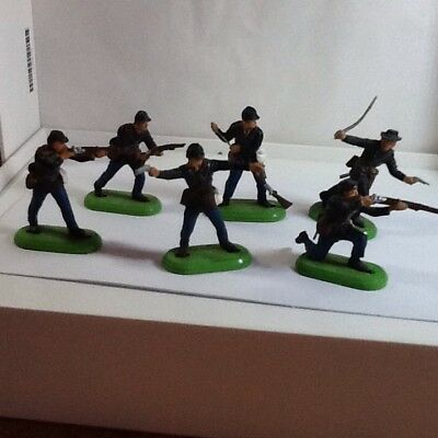 Britains American Civil War Union Troops Six Figures In Various Poses