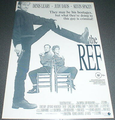 Promotional Movie Flyer : A4 : REF, The : Denis Leary Kevin Space