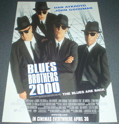Promotional Movie Flyer : A4 : BLUES BROTHERS 2000