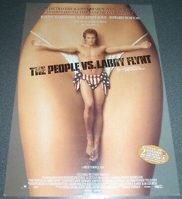 Promotional Movie Flyer : A4 : PEOPLE VS. LARRY FLINT, The