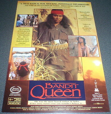 Promotional Movie Flyer : A4 : BANDIT QUEEN