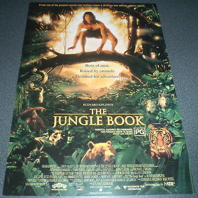 Promotional Movie Flyer : A4 : JUNGLE BOOK. The (1994)