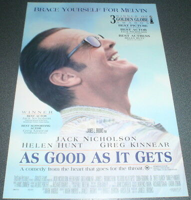 Promotional Movie Flyer : A4 : AS GOOD AS IT GETS