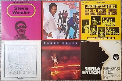 Sammlung/Lot: 42 LPs (#01): Black Music, Soul, Funk, etc.