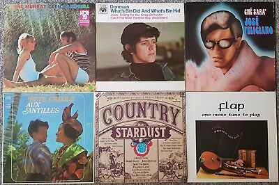 Sammlung/Lot: 42 LPs (#05): Folk / World / Country