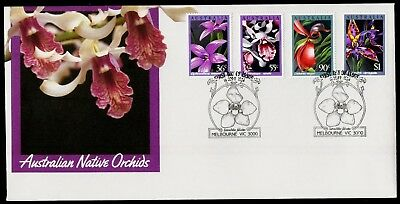 Australia 1986 First Day Cover FDC - Australian Native Orchids