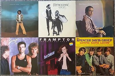 Sammlung/Lot: 42 LPs (#06): Rock (1960s - 1980s)