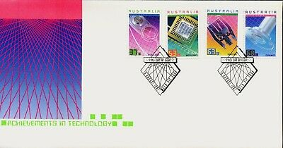Australia 1987 First Day Cover FDC - Achievements in Technology