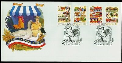 Australia 1987 First Day Cover FDC - Agricultural Shows