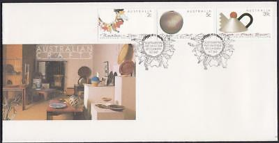 Australia 1988 First Day Cover FDC - Australian Crafts