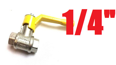 On/Off Switch Gas Valve Handle for Chinese Wok Cooker Made in Italy (DN10 PN100)