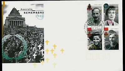 Australia 1995 First Day Cover FDC - Australia Remembers 1945