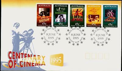 Australia 1995 First Day Cover FDC - Centenary of Cinema