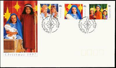 Australia 1997 First Day Cover FDC - Christmas
