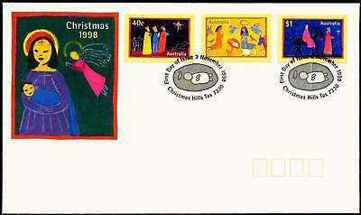 Australia 1998 First Day Cover FDC - Christmas