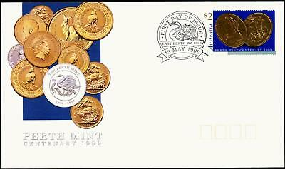 Australia 1999 First Day Cover FDC - Perth Mint Centenary