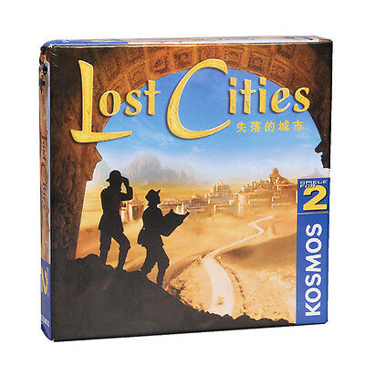 Lost Cities Board Game Card For Gathering Party [NEW]