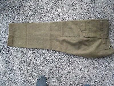 WW2 mint Canadian BD tunic trs
