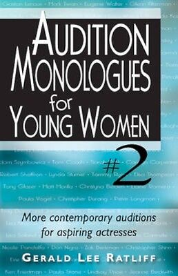 NEW Audition Monologues For Young Women #2 by Gerald Lee... BOOK (Paperback)