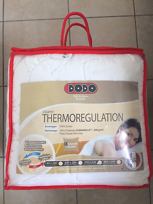 Couette Dodo Thermoregulation 240x220 Climarelle 300g/m²