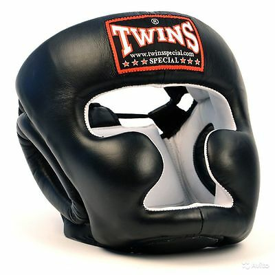 Twins Special Head Guard Full Face Hgl-3 Muay Thai Boxing Mma Sparring Aus Stock