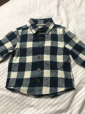 NEXT BOYS SHIRT ( age 12/18 months used )