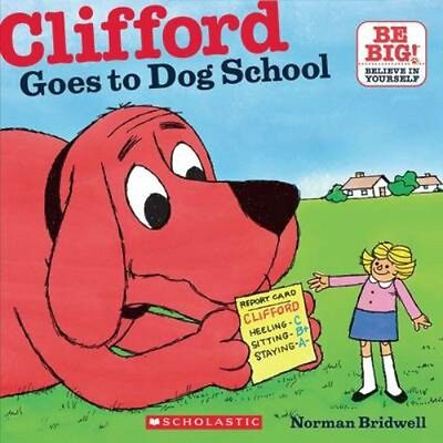 NEW Clifford Goes To Dog School BOOK (Paperback) Free P&H