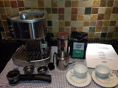 **bargain**delonghi Ec33015 Bar Espresso Cappuccino Coffee Machine/maker- Silver