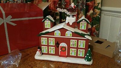 AVON  Christmas Calendar Advent House