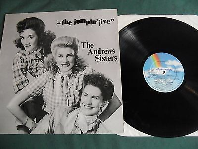 The Andrew Sisters Lp - The Jumpin' Jive