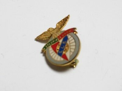 Vintage Benfica Football Badge.