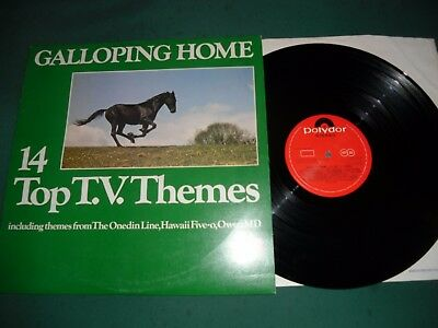 Galloping Home --14 Top Tv Themes Lp