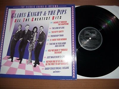 Gladys Knight & The Pips Lp - All The Greatest Hits