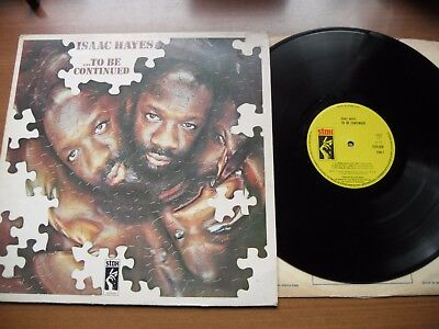 Isaac Hayes Lp - .... To Be Continued