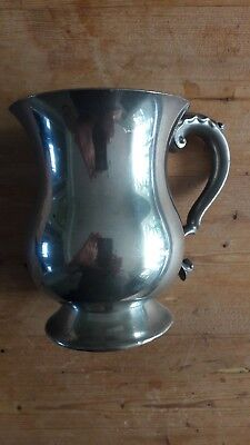 English Pewter Tankard - made in Sheffield