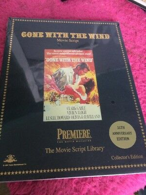 Gone With The Wind 55th Anniversary Film Movie Script New And Sealed