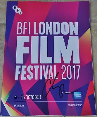 Adam Sandler Signed BFI London Film Festival Programme 2017