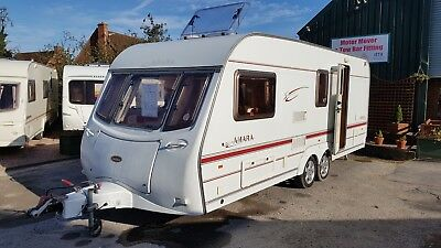 Sterling Elite Searcher - 4 Berth - Fixed Bed - Twin Axle Caravan - P/x Welcome