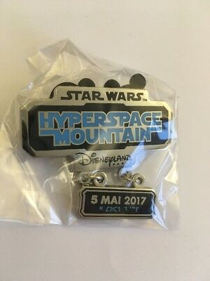 Hyperspace Mountain Pin Ouverture Attraction Disneyland Paris oppening limited