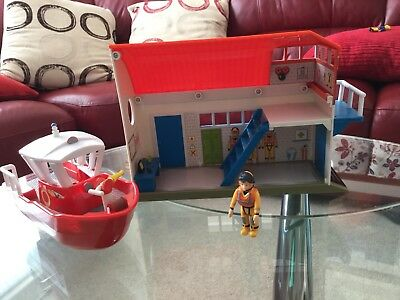 Fireman Sam Sea Rescue Station And Boat