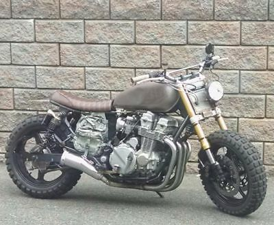 1999 Honda CB  caferacer dirttracker Dixon bike walking dead