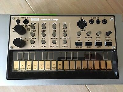 Korg Volca Keys Synthesizer - Boxed, excellent condition.