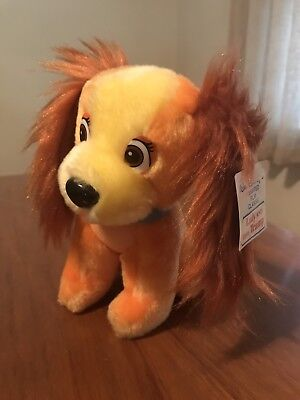 90s Walt Disney Lady And The Tramp Plush New With Tags